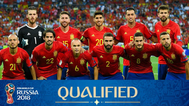 Spain in World Cup 2018